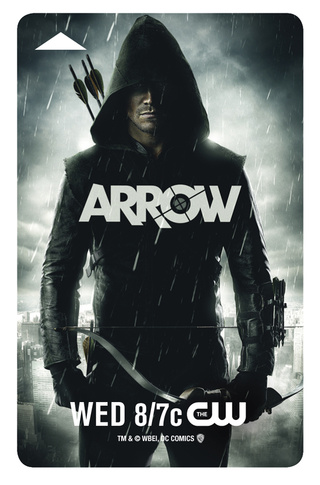 Comic-Con 2012 Keycards W/Art From Arrow, Revolution and 666 Park Avenue