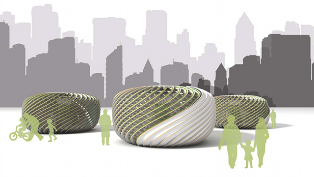 Click here to read Algae-Powered Pods Provide Fresh Air in an Otherwise Polluted Environment