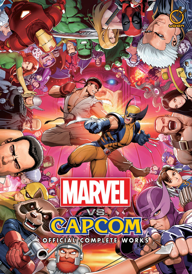 The Most Amazing Collection of Marvel Vs. Capcom Art the World Has Ever Seen