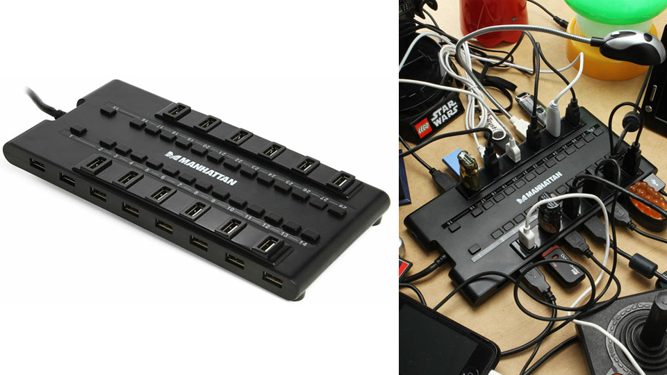 This 28 Port USB Hub Still Doesn't Have Enough