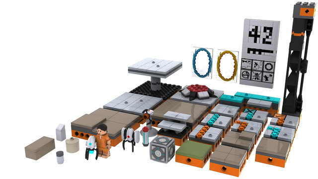These Portal LEGO sets were too nifty for reality