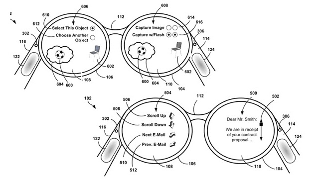 Google Scores a Patent on Google Glasses Technology