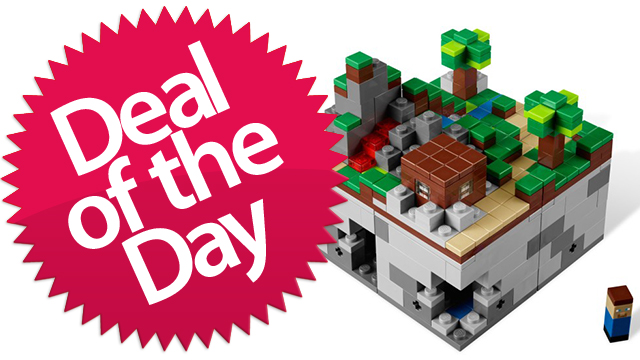 This Lego Minecraft Is Your Building-Blocks-For-Building-Blocks Deal of the Day [Dealzmodo]