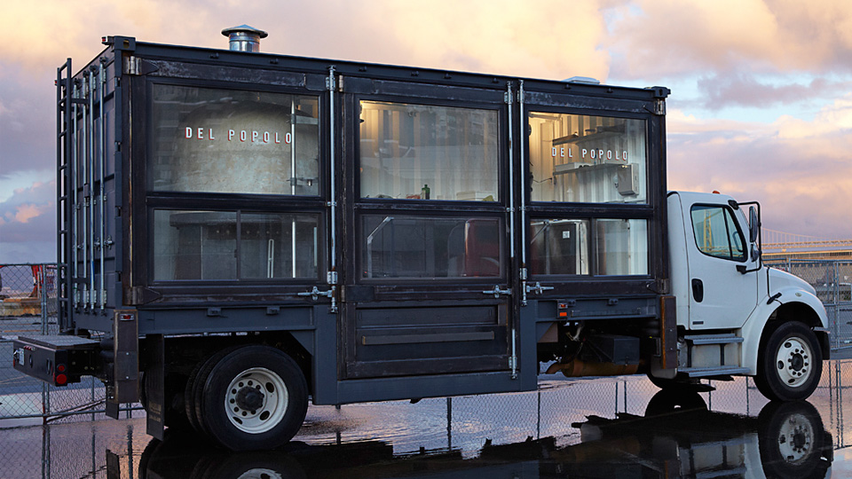 Where The Magic Happens: The 15,000kg Pizzeria On A Truck