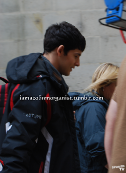 Merlin Series 5 Set Photos