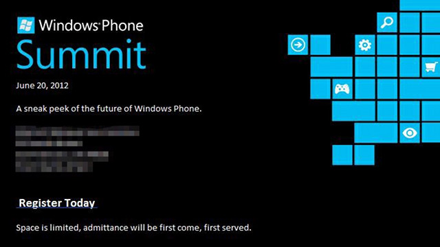 Microsoft Schedules More Announcements For Tomorrow, Windows Phone 8 Incoming?