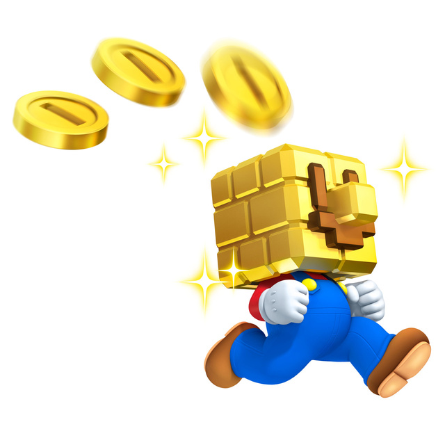 Mario Looks Pretty Damn Cool Decked Out In Gold