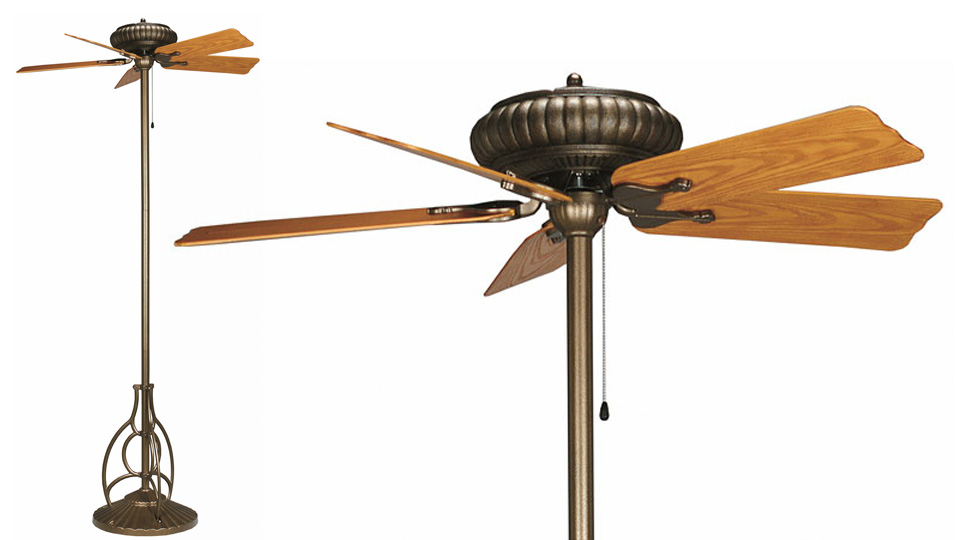Standing Ceiling Fans Could Be More Useful Than It Sounds | Gizmodo ...