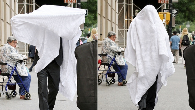 Alec Baldwin Hides Under Blanket to Avoid Being Angered By Photographers