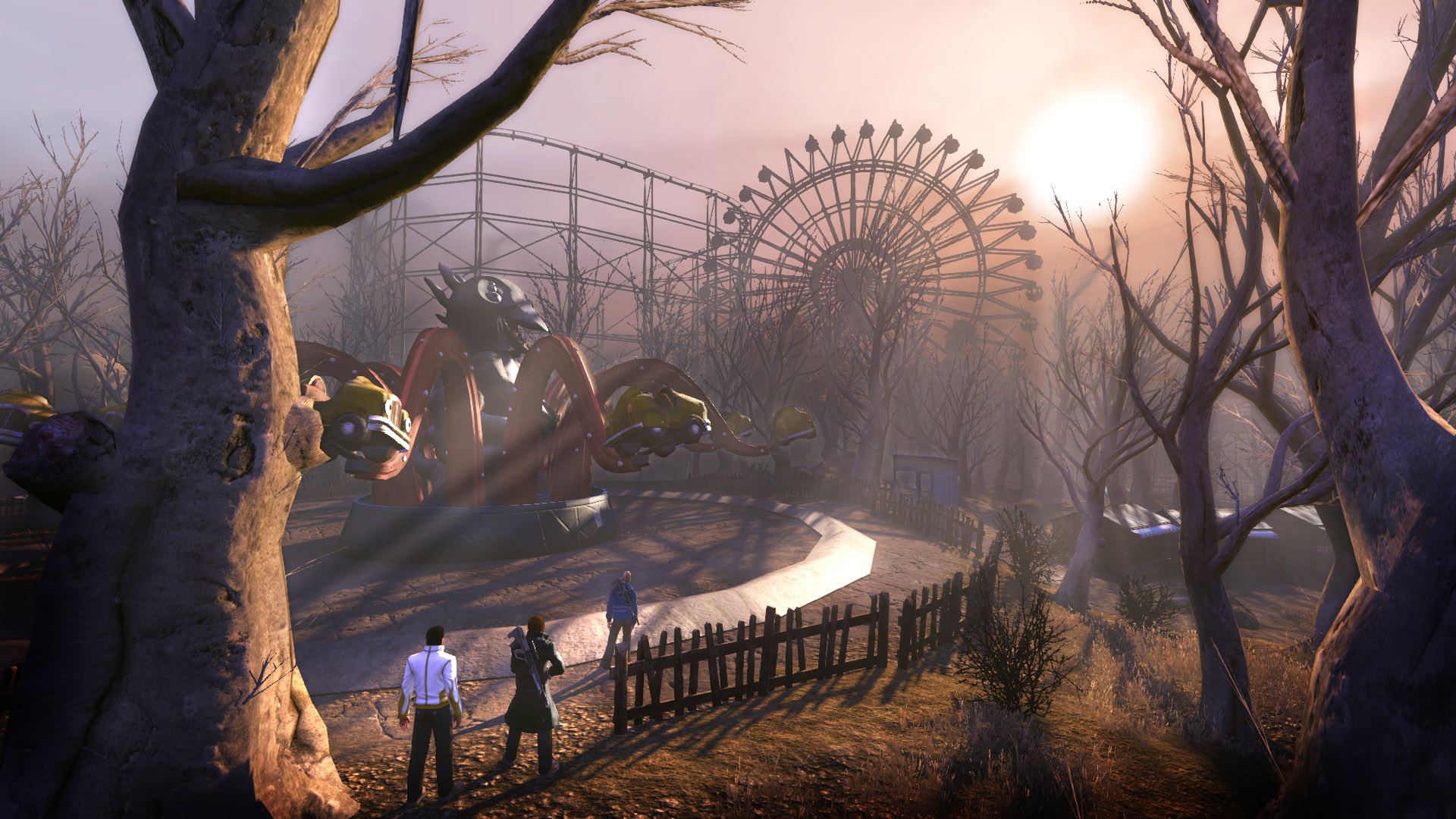The Secret World MMO Takes You To An Amusement Park ...