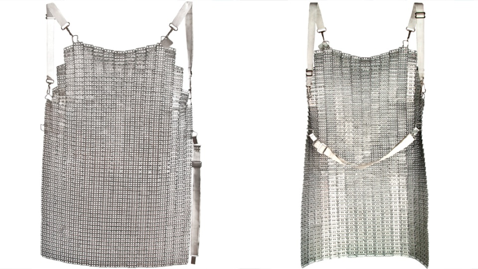 Become A Knight Of The Round Dinner Table With This Chain Mail Apron