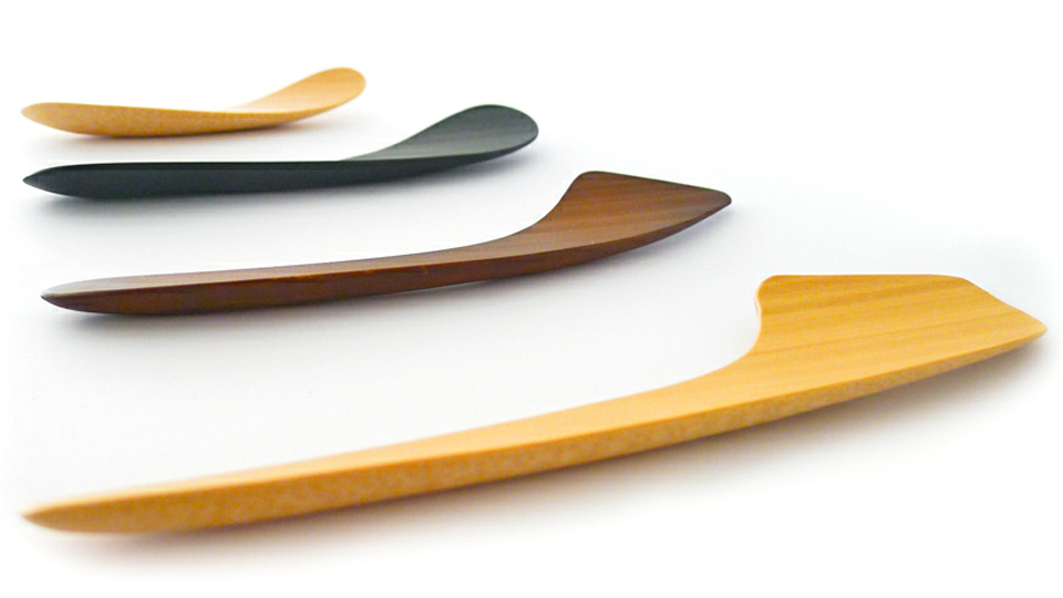 Eat From Bamboo Cutlery That Looks Like It Was Designed By An Aeronautical Engineer