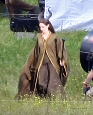 First Ever Malificent Set Pictures (Check Out Those Horns!)