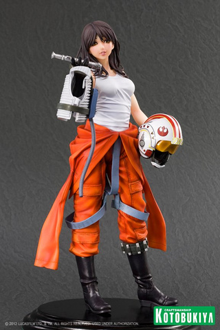 This Isn't How I Imagine a Star Wars / Rogue Squadron Pilot to Look