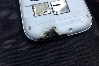 The Galaxy S III Is Trying So Hard It Catches Fire