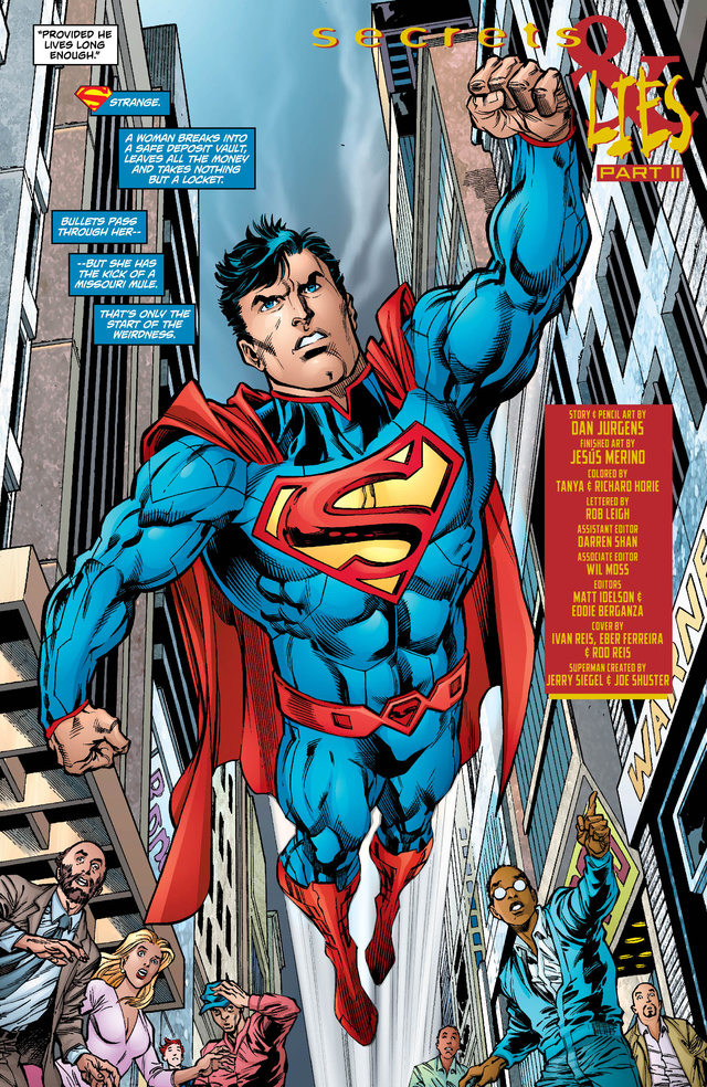 Check out a preview of next week's issue of Superman