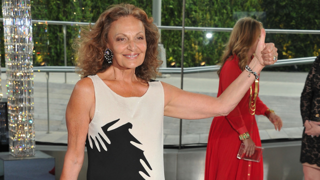Diane von Furstenberg Loves Dressing the Chinese Because They're Just So Skinny!
