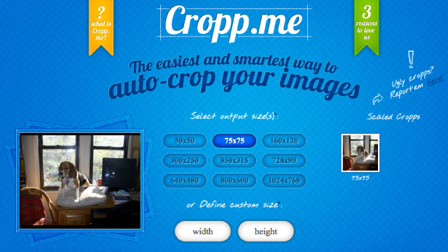 Click here to read Cropp.me Automatically Crops Multiple Images Online