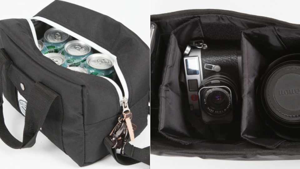 The Cooler Lens Bag For Boozy Photographers