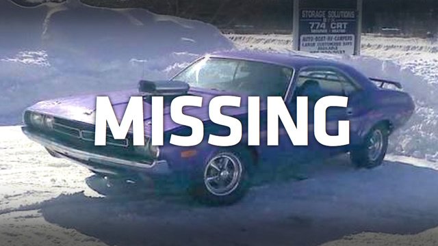 Bank Of America Has Something To Do With This Muscle Car's Disappearance