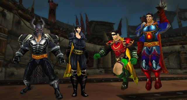 Here's How You Bring Superman and Batman into World of Warcraft
