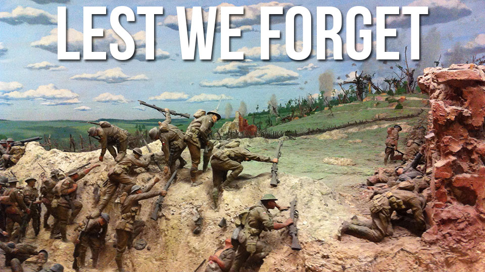 Click here to read Classic Dioramas Depict the Horrors of War