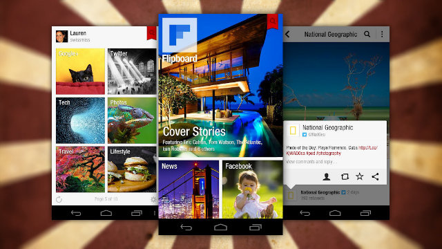 Flipboard Officially Arrives for Android, Offers Magazine-Style News Reading to All