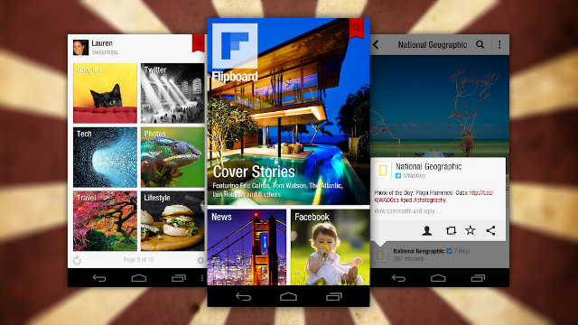 Click here to read Flipboard Officially Arrives for Android, Offers Magazine-Style News Reading to All