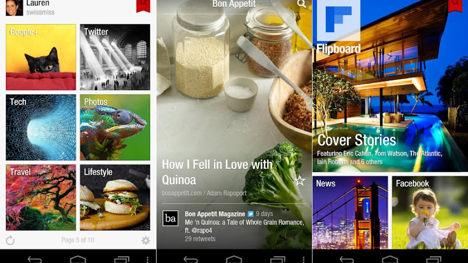 Click here to read Flipboard Finally Arrives for Android Users