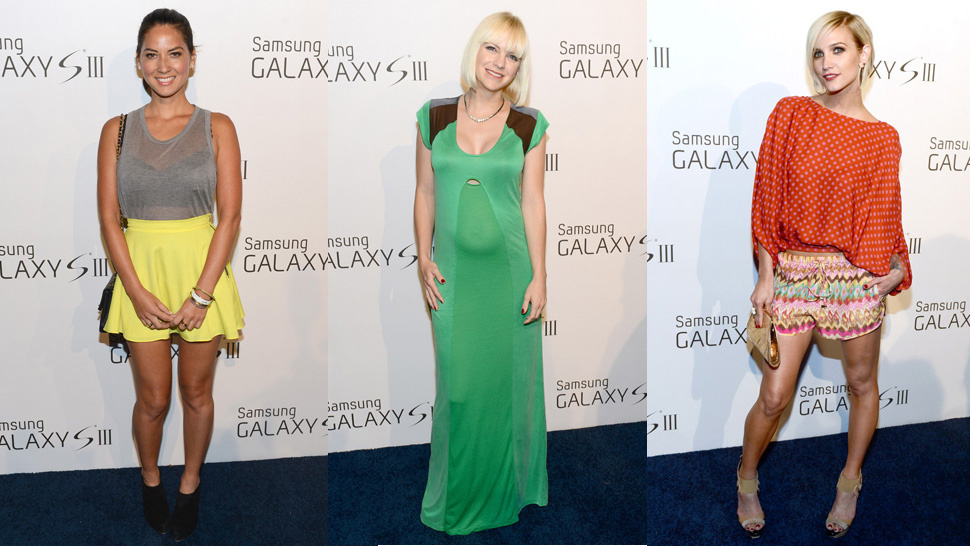 Everybody Looked Cute at the Samsung Party