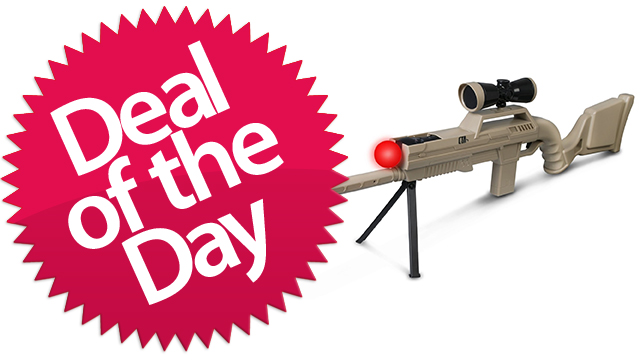 Click here to read This Playstation Move Sniper Rifle Is Your You're-Still-Not-Really-A-Sniper Deal of the Day