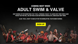Valve and Adult Swim Collaboration Premiering Next Week