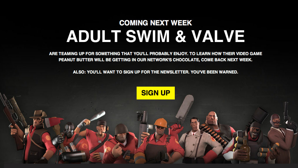 Click here to read Valve and Adult Swim Collaboration Premiering Next Week