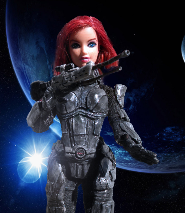 How To Turn Mass Effect 3's Shepard Into A Barbie Doll