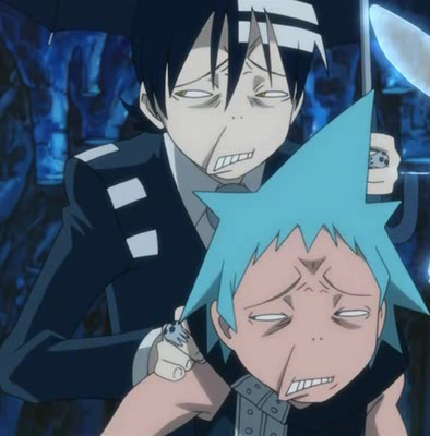 Excalibur Soul Eater Face Gif Damn that looks painful