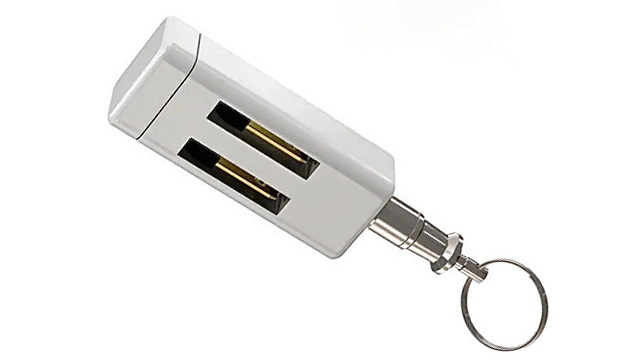 Click here to read The World's Smallest iPhone Charger Skips The Cables Altogether