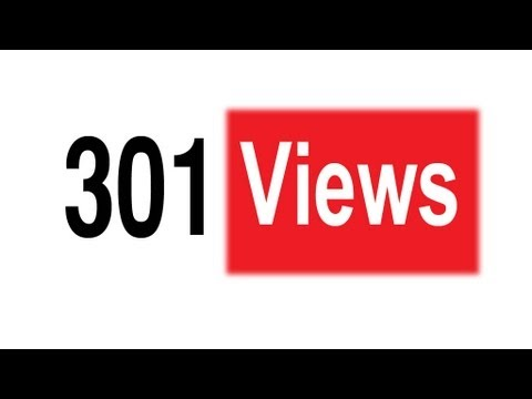 Click here to read At Last: Why YouTube Suddenly Stops Counting Views at 301