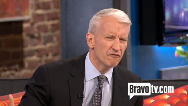 Anderson Cooper Gets Tough and Calls a Guy a Bitch for Trying to Take His Picture