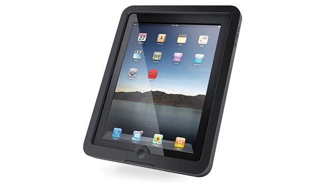 Click here to read Would You Trust a Waterproof iPad Case That Doesn't Protect the Display?