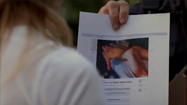 True Blood finally takes off Meloni's shirt
