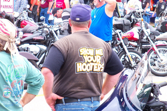 Throbbing Pipes And Pussy By The Can: Scenes From Laconia Bike Week