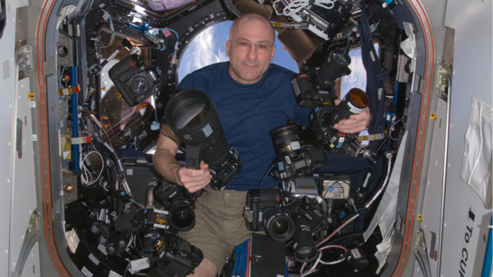 How Many Cameras Does One Astronaut Need?