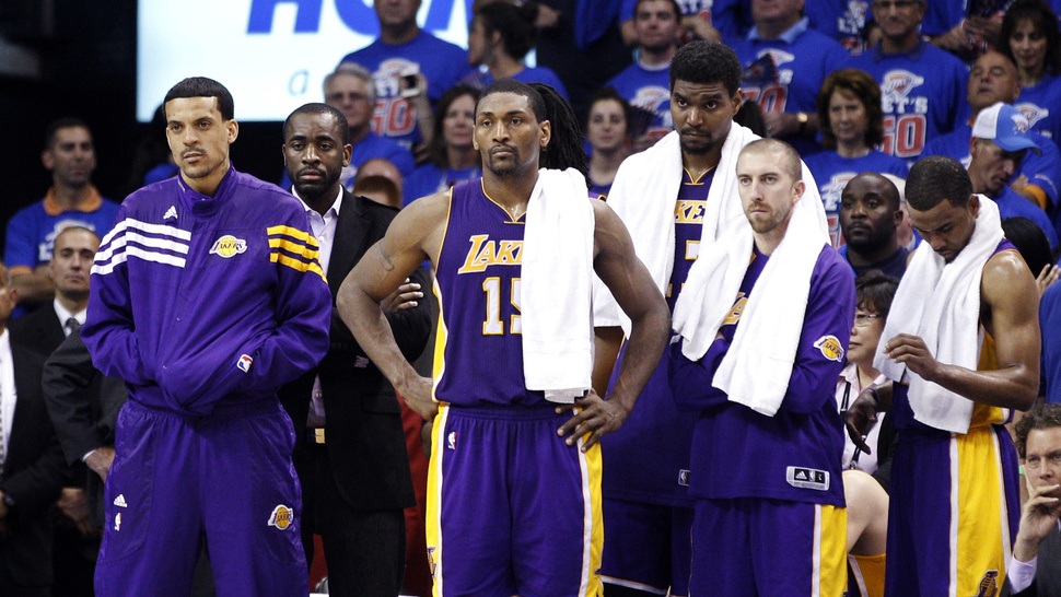 Metta World Peace Says The Lakers Are The NBA's Best Team And Don't Need To Make Any Changes