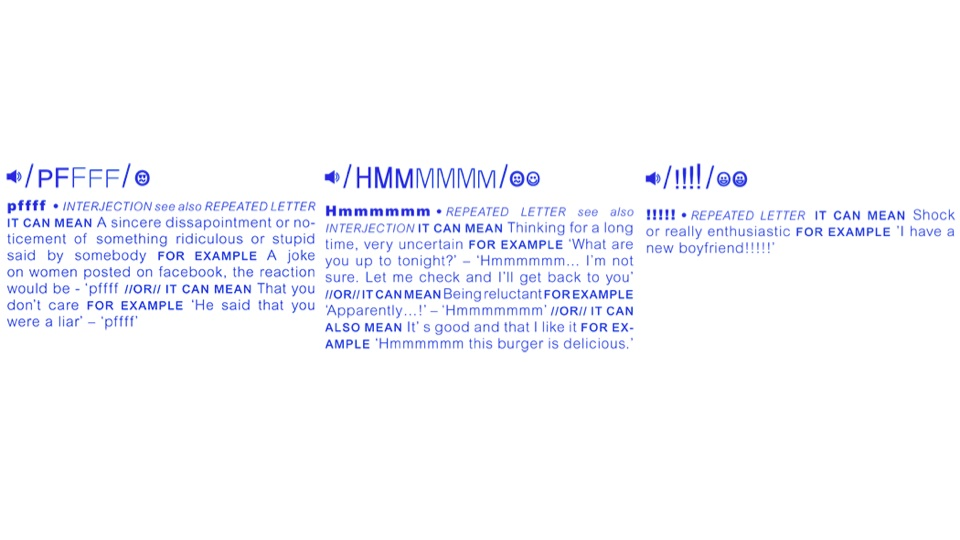 The Sound-Word Index Helps You Express Yourself Online