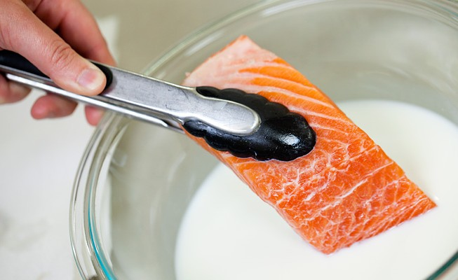 Click here to read Soak Fish in Milk for Odor-Free Cooking