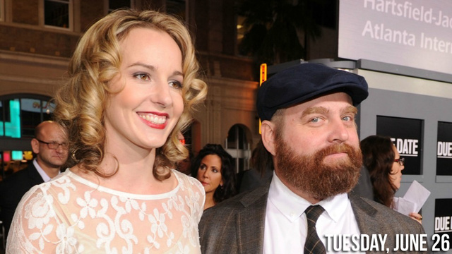 Self-Proclaimed Troll Zach Galifianakis To Wed Tall Blonde Princess