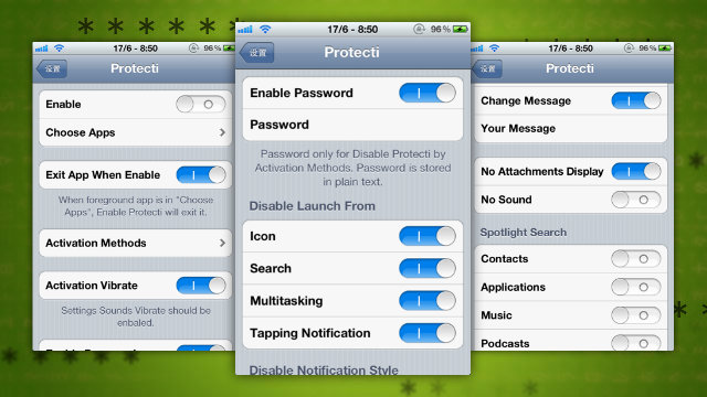 Click here to read Protecti for iPhone Locks Specific Apps, Hides Notifications, and Disables Settings with a Gesture