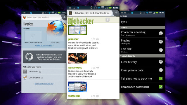 Click here to read Firefox for Android Updates, Offers Seriously Speedy Browsing and Bookmark Syncing