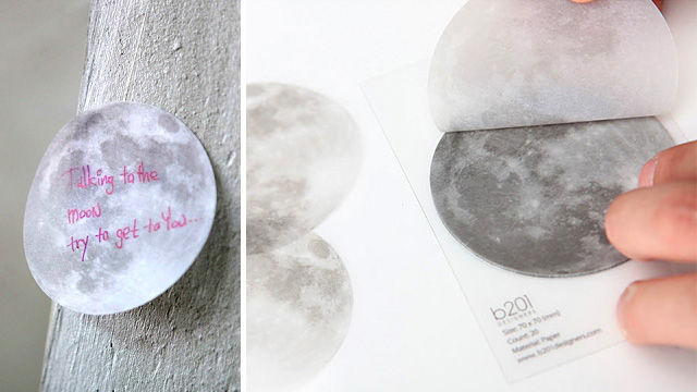 One Small Reminder For Man, One Giant Full Moon Sticky Note For Mankind