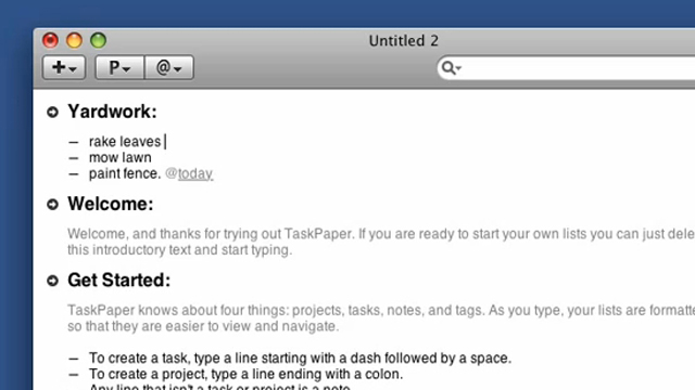 Click here to read TaskPaper To-Do App Available for 93% Off, Today Only
